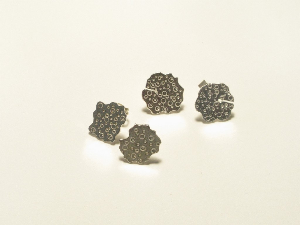 'Urchin' stud Earrings