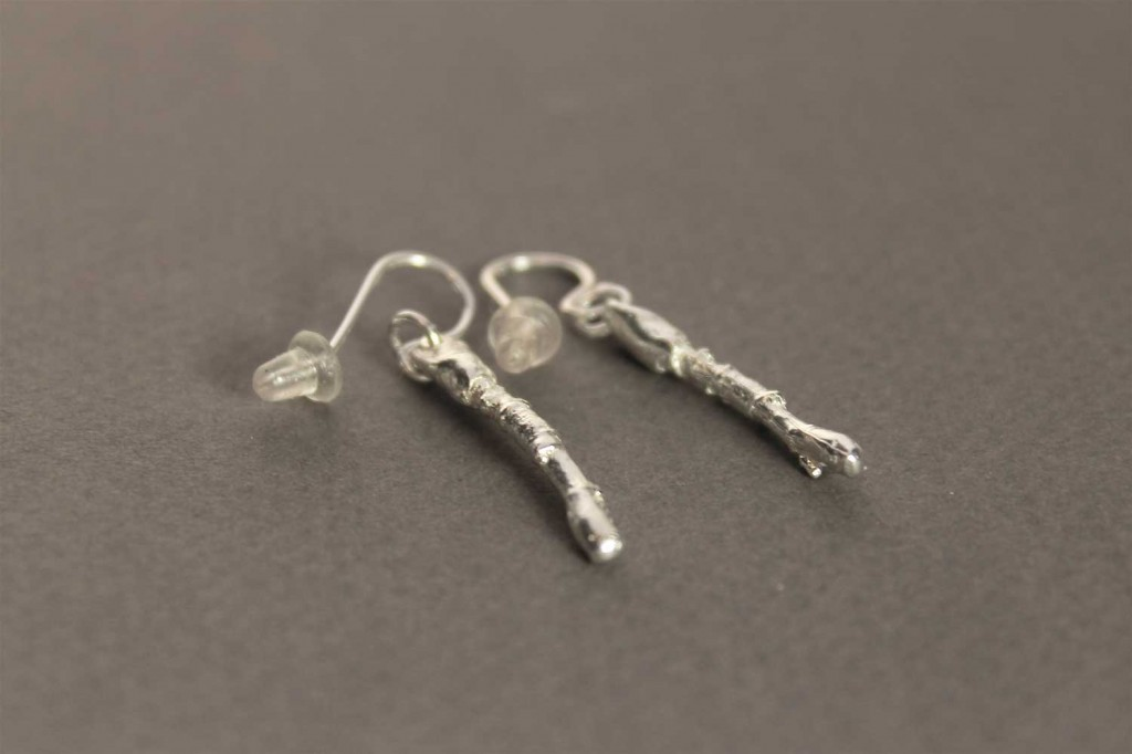Earring in Sterling Silver