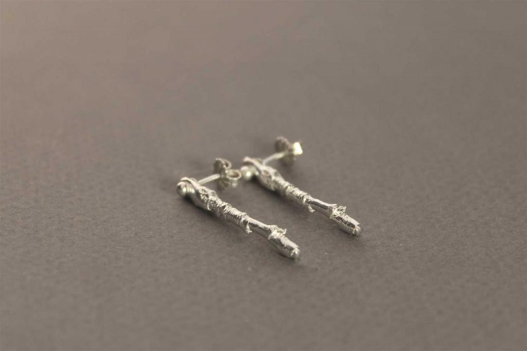 Earring in Sterling Silver